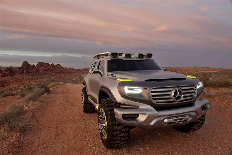MERCEDES ENERG-G-FORCE