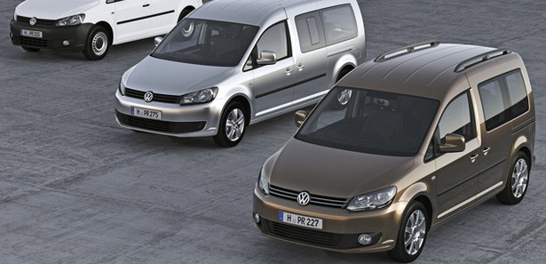 VW Caddy'de yılsonu avantajı!